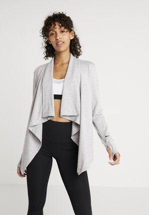 YOGA COLLECTION - veste en sweat zippée - atmosphere grey/heather