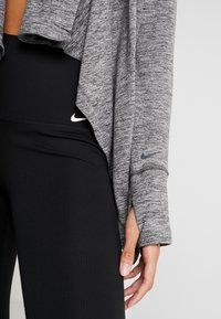 Nike Performance - YOGA COLLECTION - veste en sweat zippée - black/heather/anthracite - 4