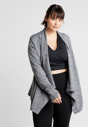YOGA PLUS - Treningsjakke - black/heather/anthracite