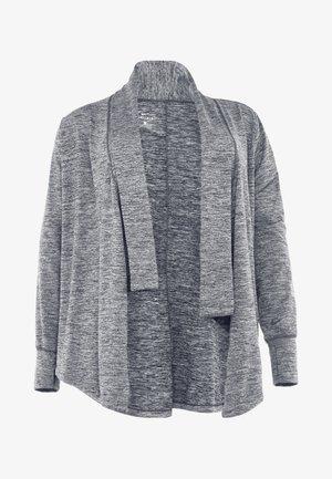 YOGA PLUS - Sportovní bunda - black/heather/anthracite