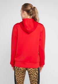 Nike Performance - HOODY - Zip-up hoodie - university red/metallic silver - 2