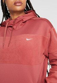 Nike Performance - ICON - Sweat à capuche - cedar/metallic gold - 5