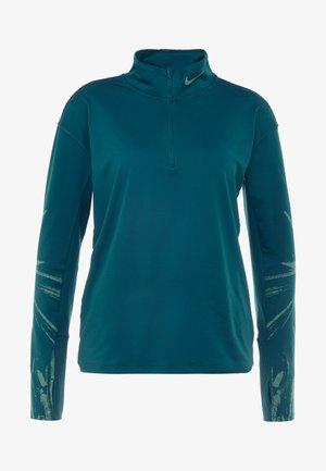 Treningsskjorter - midnight turq/lucid green