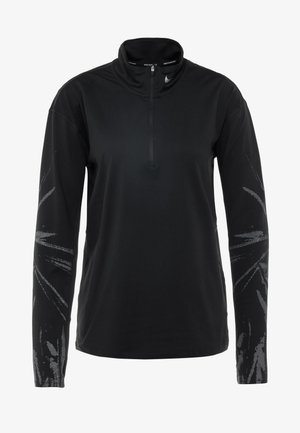T-shirt sportiva - black/reflective silver