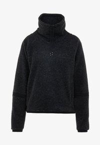 Nike Performance - COWL COZY - Bluza z polaru - black heather - 3
