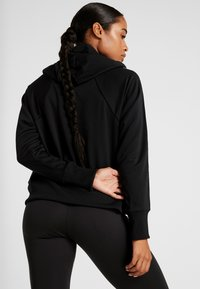 Nike Performance - NK DRY FLC GET  - Zip-up hoodie - black/white - 2