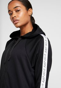 Nike Performance - NK DRY FLC GET  - Zip-up hoodie - black/white - 3