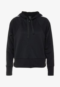 Nike Performance - NK DRY FLC GET  - Zip-up hoodie - black/white - 4