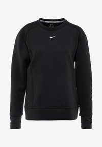 Nike Performance - CREW - Felpa - black/metallic silver - 5