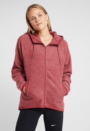 COZY - Giacca in pile - cedar heather/cedar/black