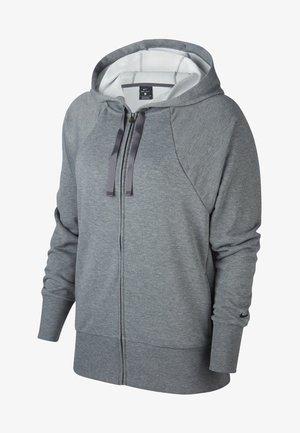 DRY GET FIT - veste en sweat zippée - grey