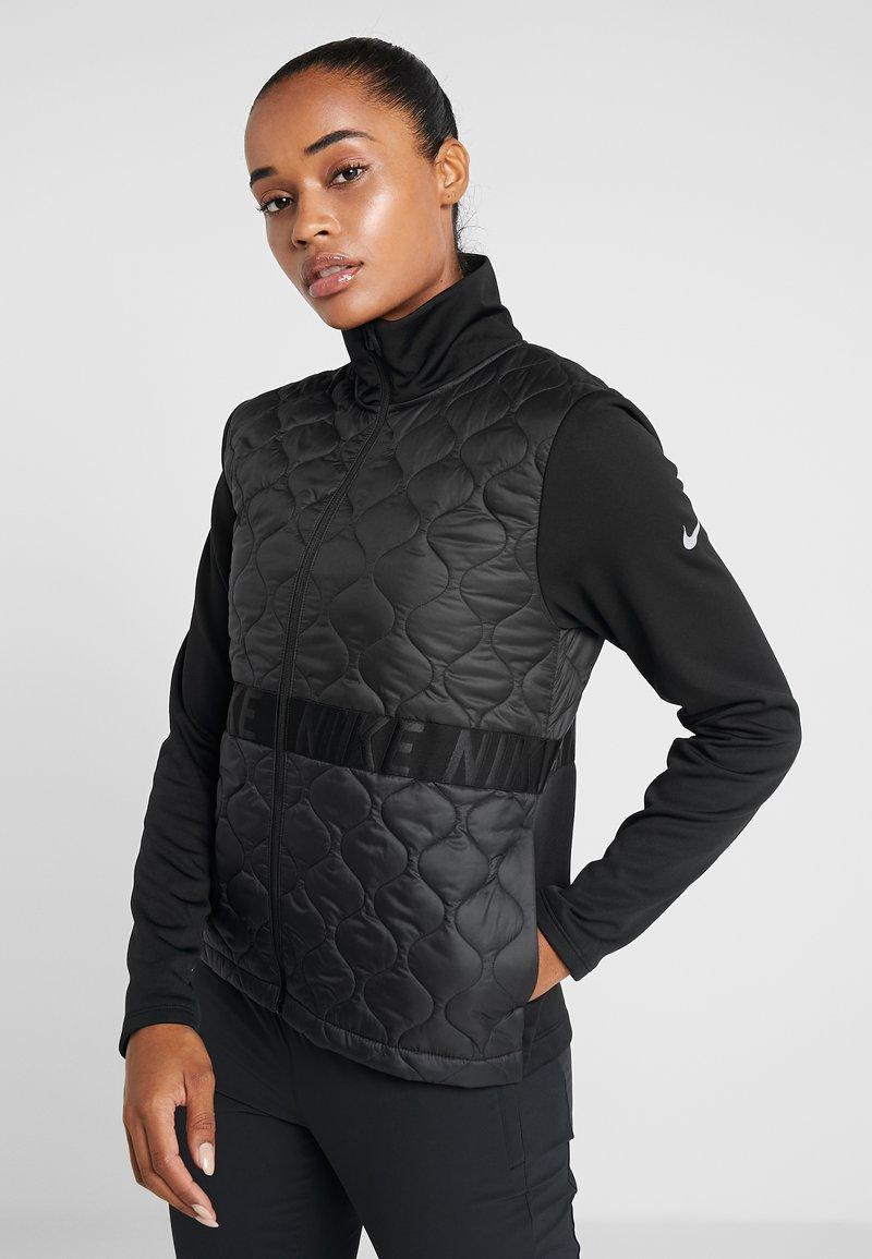 Nike Performance - Löparjacka - black