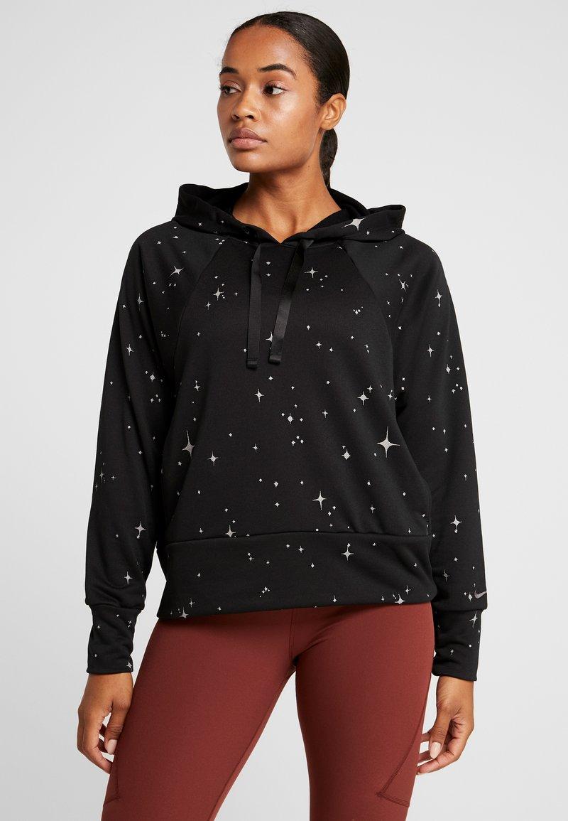 Nike Performance - GET FIT  - Hoodie - black/thunder grey
