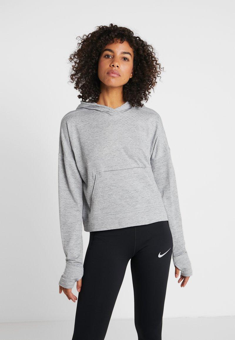 Nike Performance - SPHR ELMNT - Kapuzenpullover - particle grey/grey fog/silver