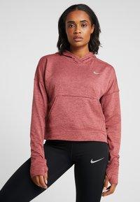 Nike Performance - SPHR ELMNT - Kapuzenpullover - cedar/light redwood - 0