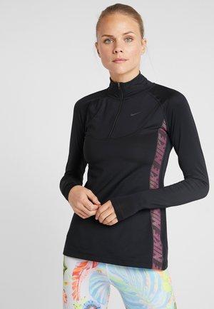 T-shirt sportiva - black/thunder grey