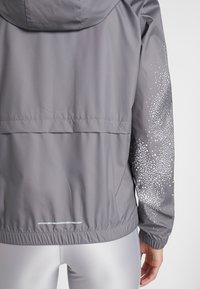 Nike Performance - Sports jacket - gunsmoke/white - 4