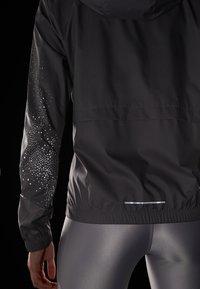Nike Performance - Giacca da corsa - gunsmoke/white - 6