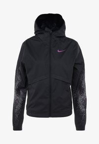 Nike Performance - Kurtka do biegania - black/vivid purple - 7