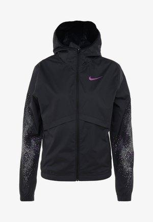 Chaqueta de deporte - black/vivid purple