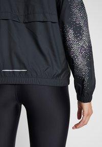 Nike Performance - Sports jacket - black/vivid purple - 5