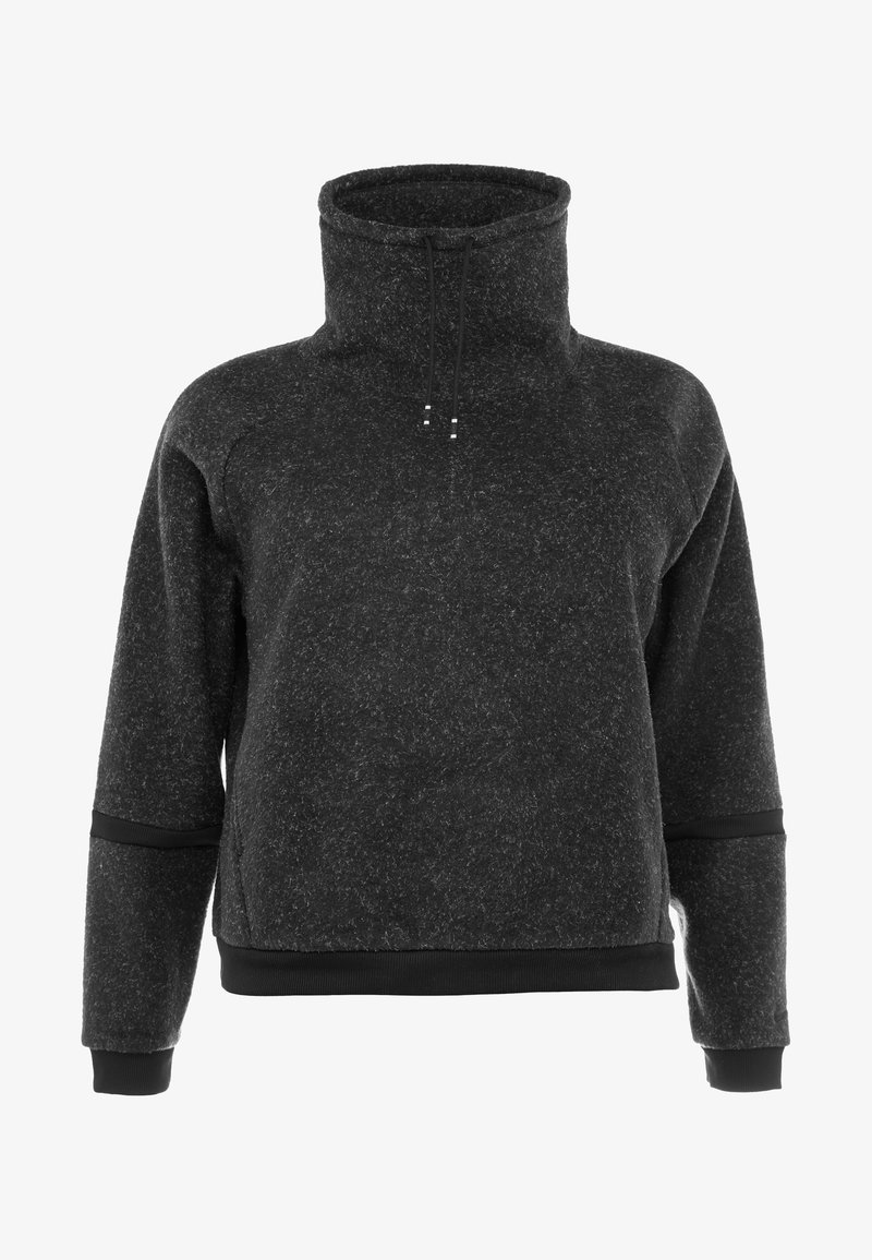 Nike Performance - COWL PLUS - Fleecová mikina - black