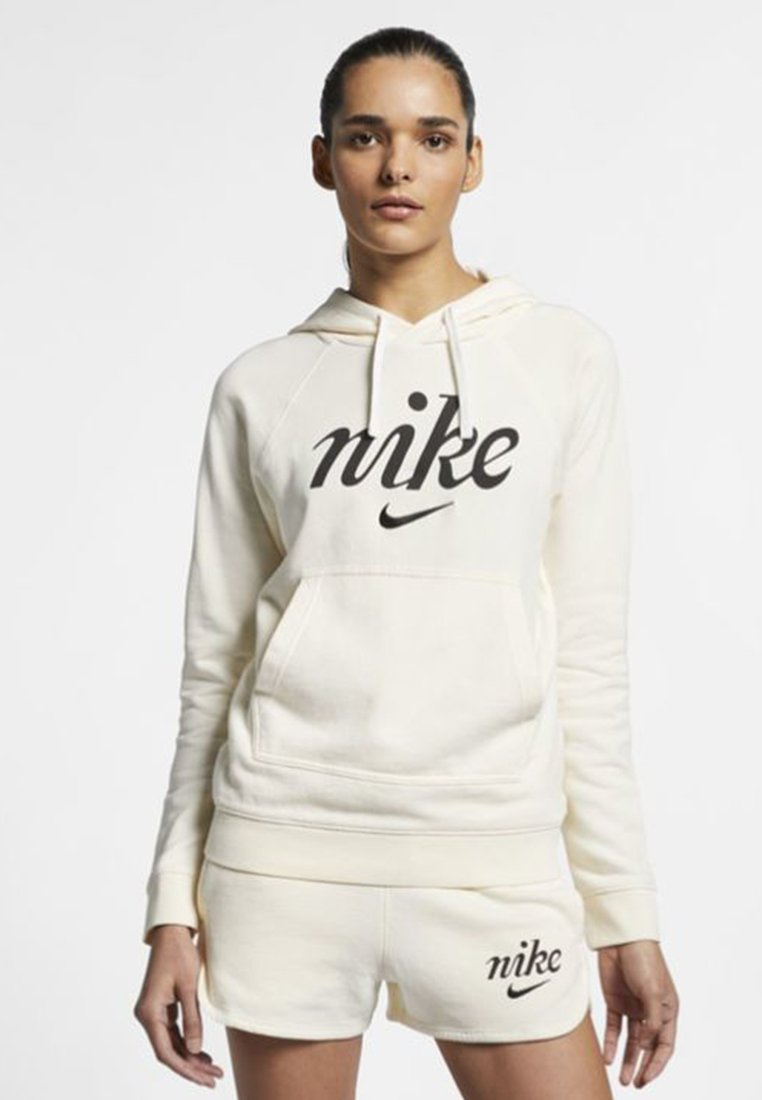 Nike Performance - Kapuzenpullover - pale ivory/summit white/black