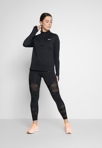 Nike Performance - PACER  - Sportshirt - black/reflective silver - 1