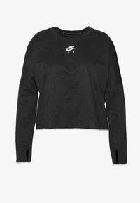 Nike Performance - AIR MIDLAYER CREW PLUS - Treningsskjorter - black/reflective silver - 4