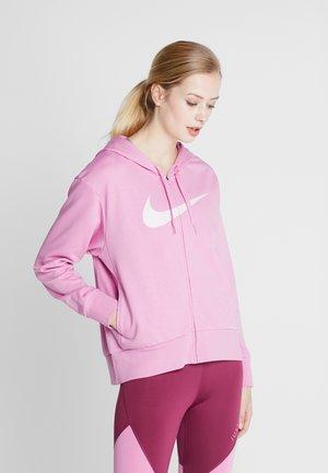 DRY GET FIT - Mikina na zip - magic flamingo/barely rose