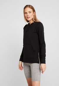 Nike Performance - YOGA COVERUP - Camiseta de manga larga - black - 0