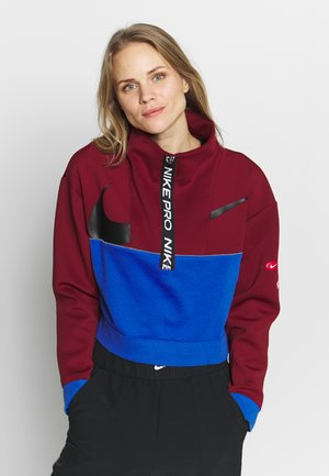 DRY - Sweatshirt - team red/game royal/black