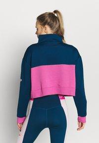 Nike Performance - DRY - Sweatshirt - valerian blue/cosmic fuchsia/white - 2