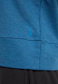 Nike Performance - YOGA WRAP COVERUP - Felpa - valerian blue/industrial blue - 6