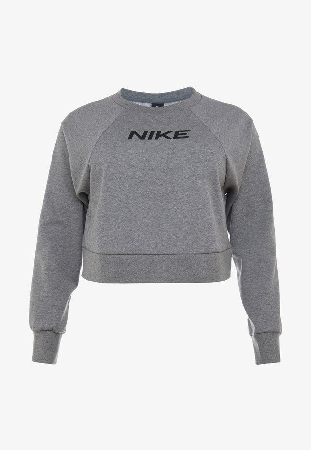 CREW PLUS - Sweatshirt - carbon heather/black
