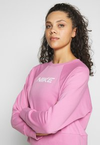Nike Performance - DRY GET FIT - Mikina - magic flamingo/white - 3