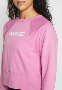 Nike Performance - DRY GET FIT - Mikina - magic flamingo/white - 5