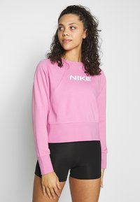 Nike Performance - DRY GET FIT - Mikina - magic flamingo/white - 0