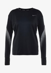 Nike Performance - MIDLAYER RUNWAY - Funktionsshirt - black/silver - 3