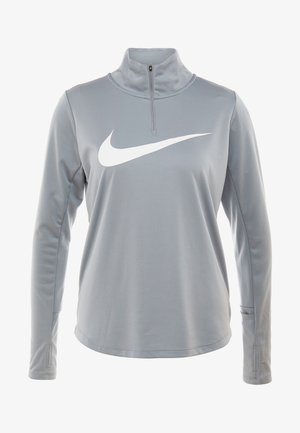 MIDLAYER RUN - Sportshirt - particle grey/white