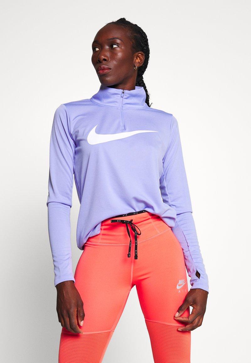 Nike Performance - MIDLAYER RUN - Sports shirt - light thistle