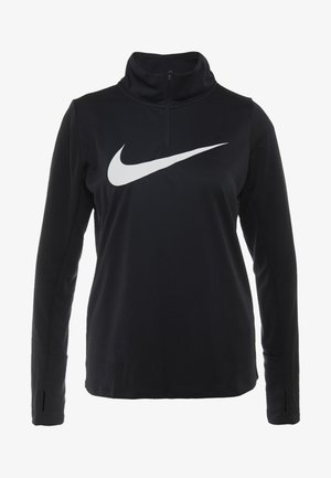 MIDLAYER RUN - T-shirt de sport - black/white