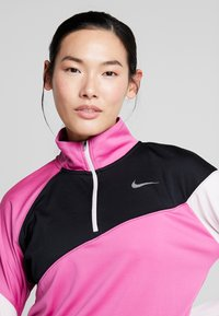 Nike Performance - MIDLAYER - Sports shirt - cosmic fuchsia/black/barely rose/silver - 3