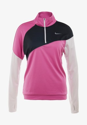 MIDLAYER - Sportshirt - cosmic fuchsia/black/barely rose/silver