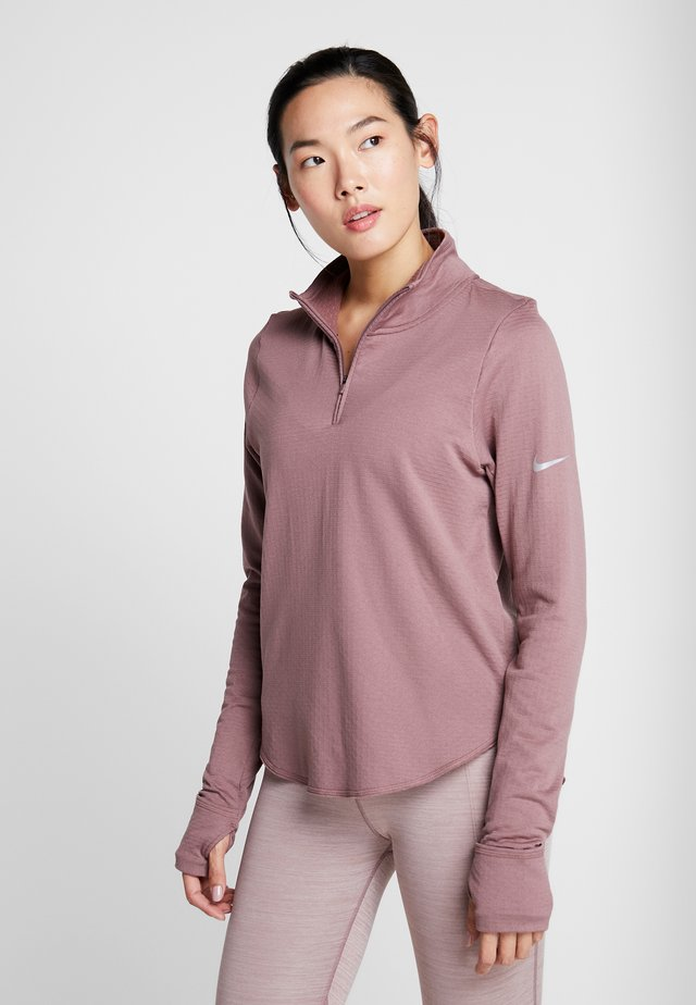Long sleeved top - smokey mauve