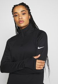 Nike Performance - Camiseta de manga larga - black/reflective silver - 3