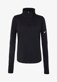 Nike Performance - Camiseta de manga larga - black/reflective silver - 4