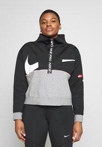 Nike Performance - DRY IN PLUS - Sudadera - black/carbon heather/white - 0