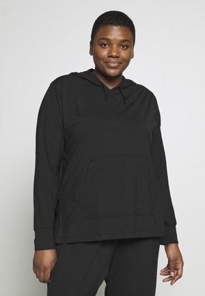 YOGA COVERUP PLUS - Sports shirt - black