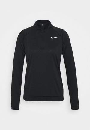 PACER - Sportshirt - black/reflective silver